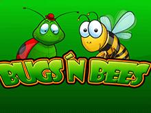 Жуки И Пчелы - онлайн слот от создателя Новоматик