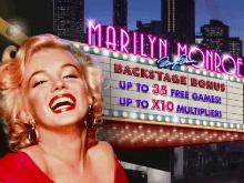 В онлайн казино игровой автомат Marilyn Monroe
