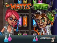 Игровой аппарат Безумный Доктор Ватт в онлайн казино Вулкан на деньги