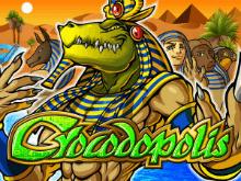 Запустите классически барабаны в игровом слоте Crocodopolis