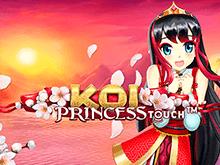 Азартная игра с интересным сюжетом Koi Princess