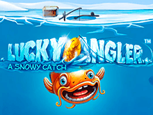 В казино на деньги азартная игра Везучий Рыбак: Зимний Улов