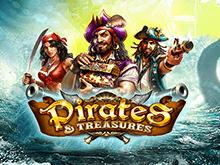 В казино с выводом денег автомат Сокровища Пиратов