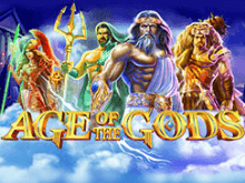 Age Of The Gods: онлайн-автомат на деньги от Playtech