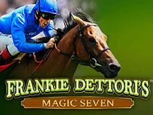 На игровом портале выиграйте победу в Frankie Dettoris Magic Seven