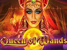 Играть в современный игровой автомат на деньги Queen of Wands