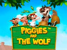 Крупные выигрыши в автомате Piggies And The Wolf
