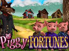 Игровой слот с большими шансами на победу Piggy Fortunes