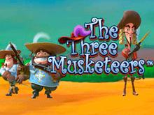 Виртуальный автомат с бонусами The Three Musketeers